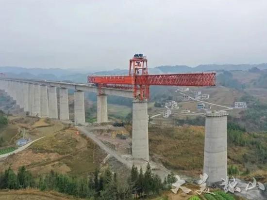 2021年贵州重大项目名单公布,新开工4个铁路项目