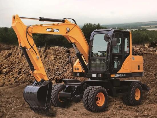 一图看懂晋工JGM9075LN-10轮式挖掘机几大亮点
