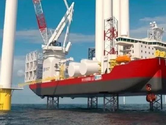 诱人的海上风电!安装船日租金18万美元!有钱也租不到!