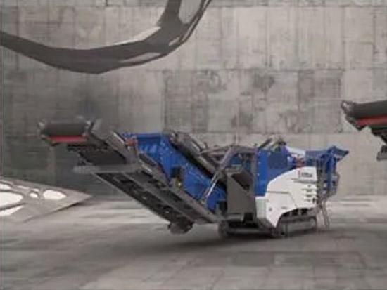 克磊镘 MOBIREX EVO2移动反击式破碎设备优势解读