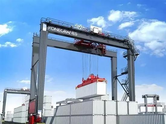 KONECRANES赢得菲律宾Davao码头MHC及RTG订单