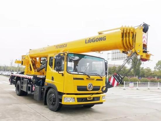 柳工TC120C5再次强势出击,吊2.1吨又能交出怎样的成绩?