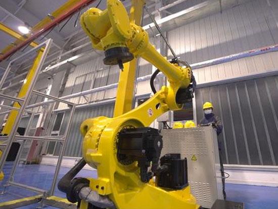 全国首批100台氢燃料电池叉车在天津投产