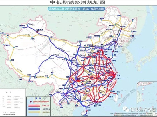 """国家""""十四五""""规划中的交通关键词及铁路重点项目!"""