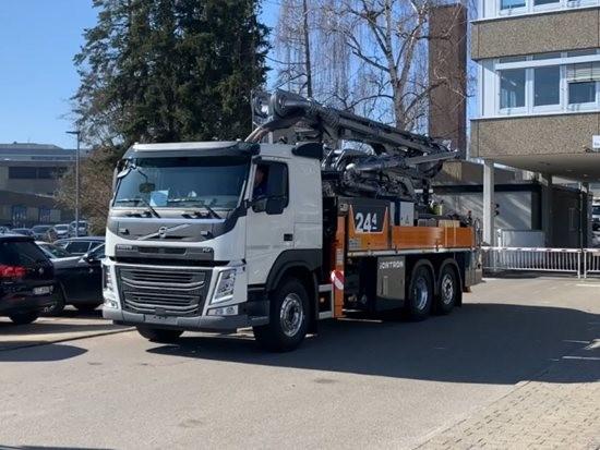 全球第一台「混动」泵车交付!