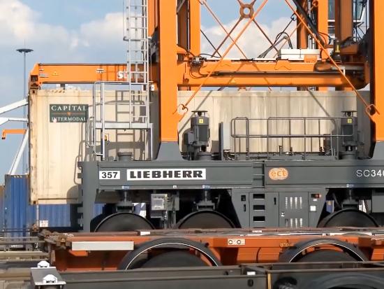 利勃海尔 Liebherr SC340S 跨运车 集装箱起重机