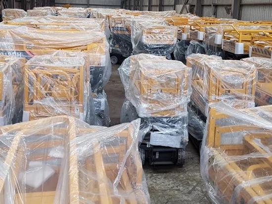 五天订单百台!三月柳工高空市场表现强劲