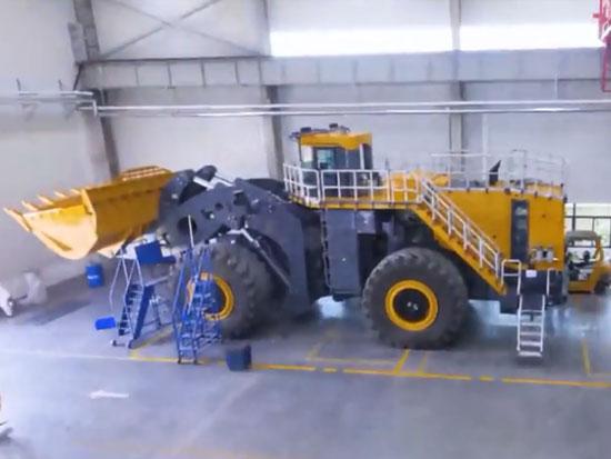 徐工 XCMG XC9350 国产大型装载机组装