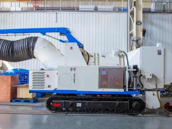 绿色施工,环保掘进——中铁装备自主研发隧道除尘车成功应用