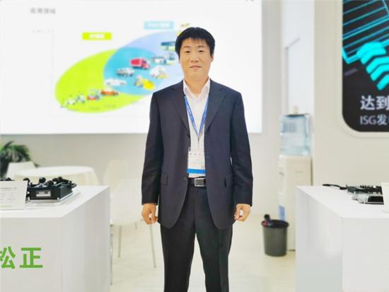 专访天津松正叉车事业部总经理熊宝明先生
