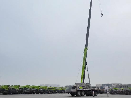 中联重科 Zoomlion ZAT4000V 553/653 起重机产品介绍