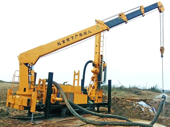 JKF-2000A液压桩孔钻机