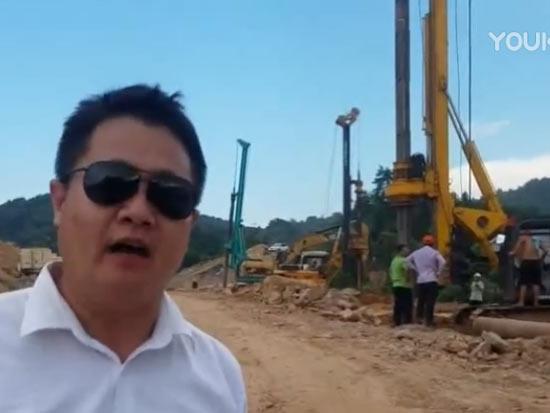 旋挖钻机资深行业人士讲解怀化高铁支护桩工程项目