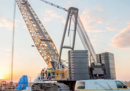 作业续航长达9小时!4分钟看完利勃海尔250吨电动吊车亮点!
