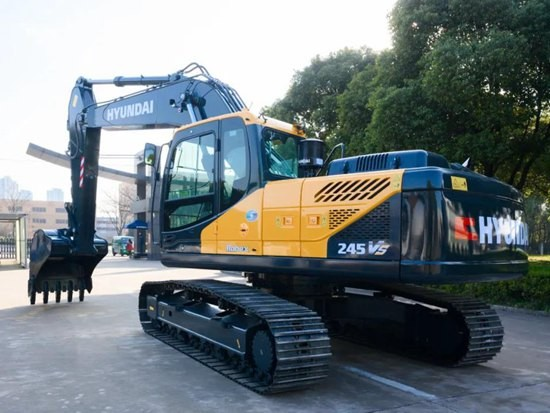 现代全新R245VS挖掘机——越级产品,装车神器!