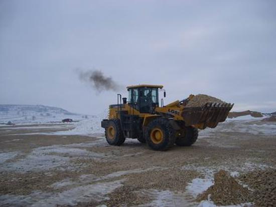 LG958在保加利亚某工地施工现场