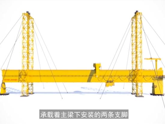 世界第一大龙门吊,50层楼高,中国自主建造!