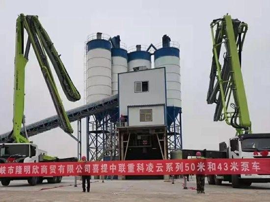 """供不应求!中联重科""""凌云""""43米泵车受市场热捧"""