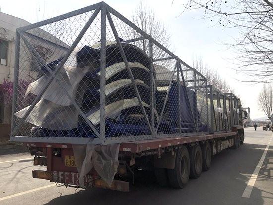山推建友助力几内亚西芒杜金迪亚隧道项目设备实现发货