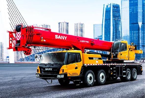 三一新款55吨吊车!这性能堪比之前老款的70吨了!
