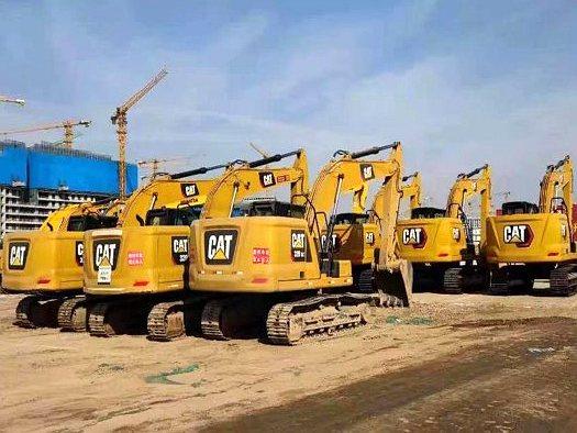 Cat®(卡特)挖掘机助力雄安新区容东片区开工建设