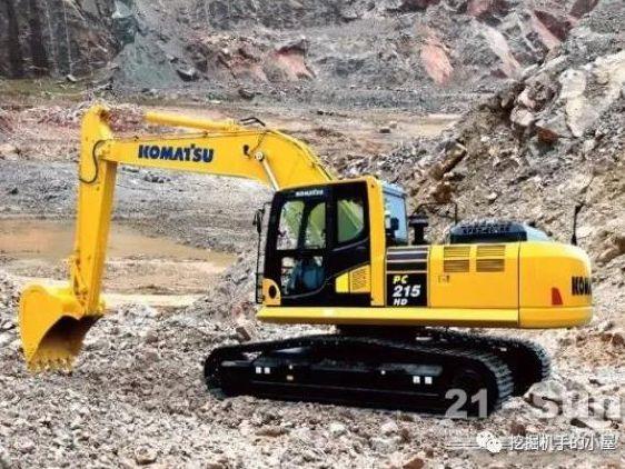 小松PC215HD-10M0履带挖掘机怎么样?
