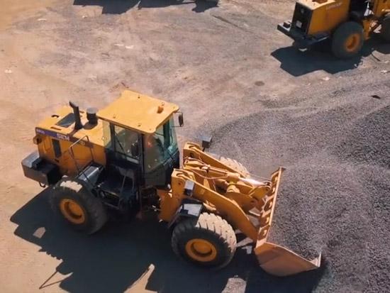 山工机械视频