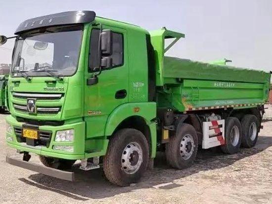 """首批""""模范生""""上岗!汉风G5法规版国六渣土车批量进驻上海!"""