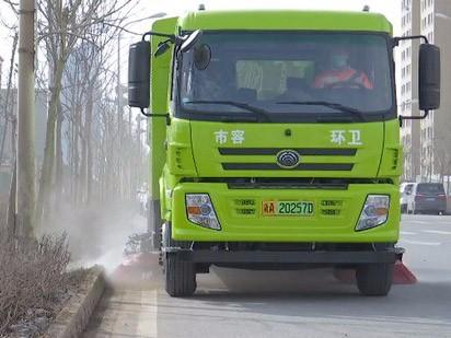 宇通新能源环卫车批量交付,助力大美新疆天更蓝、山更绿、水更清!
