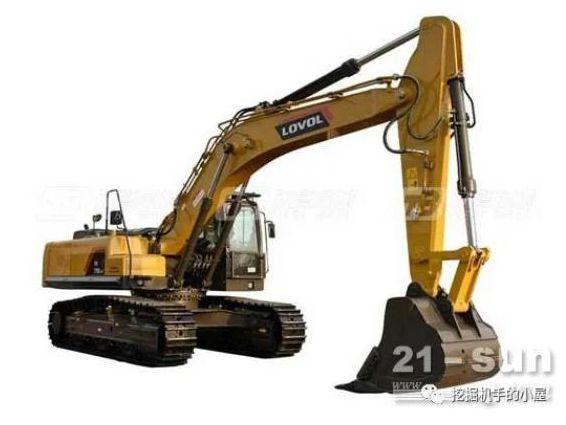 雷沃重工FR370E2-HD挖掘机:应势而生