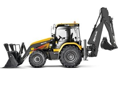 Mecalac推出新型挖掘装载机