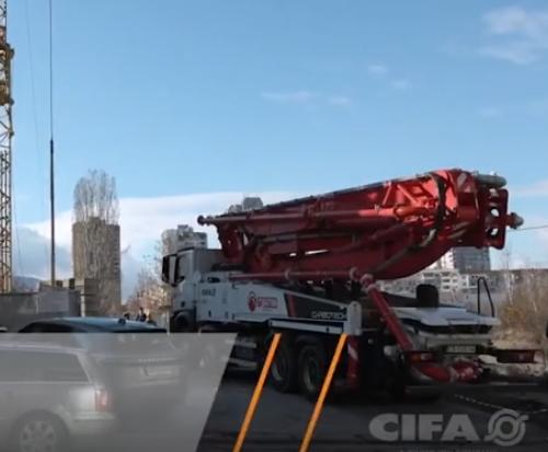 中联重科-CIFA 47米碳纤维臂架泵车简介