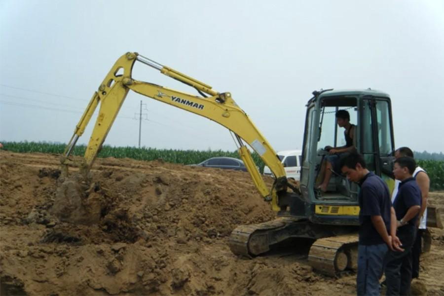 挖掘机的4个技术活