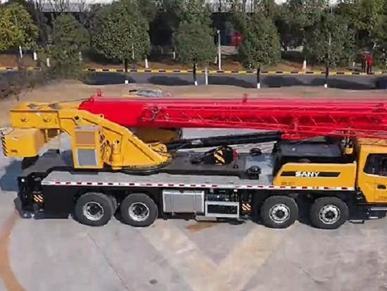 三一新款40吨突破45米主臂!