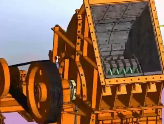 锤式破碎机怎么安装转子及其他部件?3D视频展示安装及原理