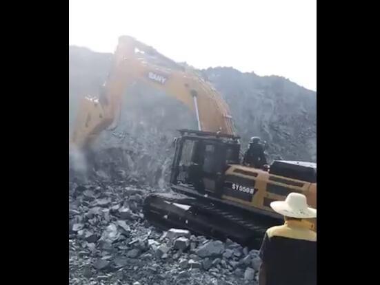 SY550H打的猛、挖的多、耗的少、不停机--我为三一大挖代言