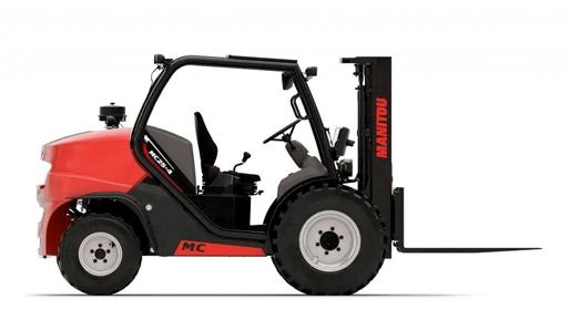 曼尼通(Manitou)推出新的紧凑型越野叉车