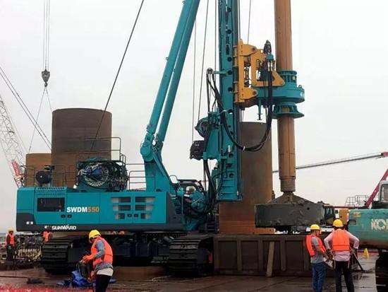 【创富故事】3年7台旋挖钻机,南坤建设的发展因山河智能而稳健