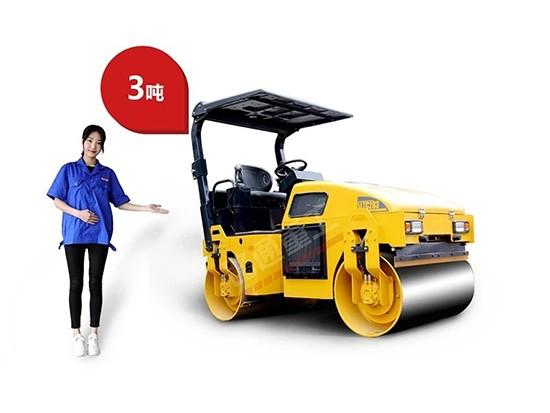 3吨小型压路机你知道哪些?一文了解它!