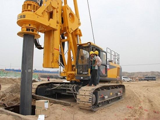 旋挖钻机回转机构故障的检查方法