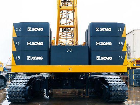 徐工XGC100A履带起重机,百吨小霸王,能干又强悍!