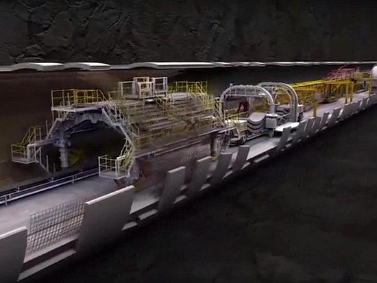 3维动画展示隧道掘进机工作原理