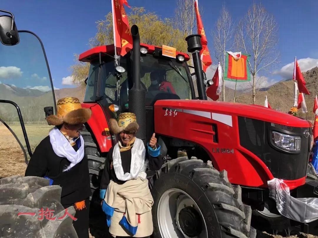 东方红拖拉机是一种什么样的存在?春耕竟然美成这样