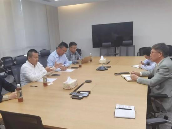 广东东升实业集团领导一行到访小松(中国)