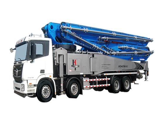 中联重科4.0泵车客户施工案例
