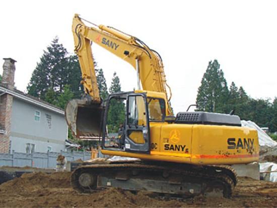 三一设备助推加拿大民用住宅发展工程施工