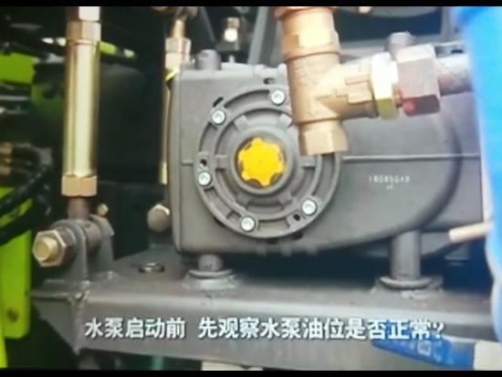 洗扫车高压水泵抖动出水压力小不顺畅故障维修视频