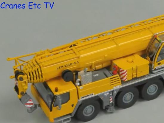 利勃海尔 Liebherr LTM 1110-5.1 起重机静态模型
