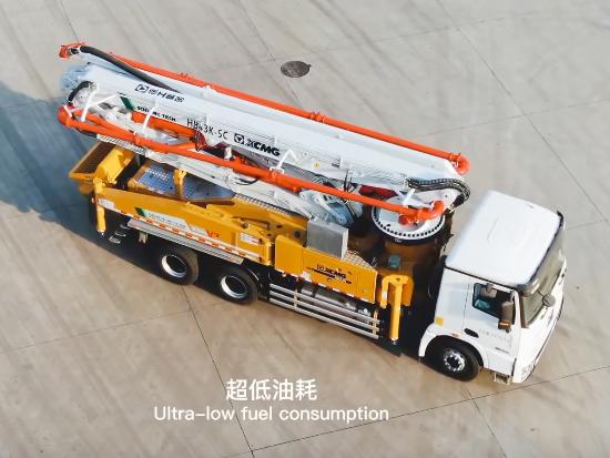 徐工 XCMG HB43K 混凝土起重机水泥泵车
