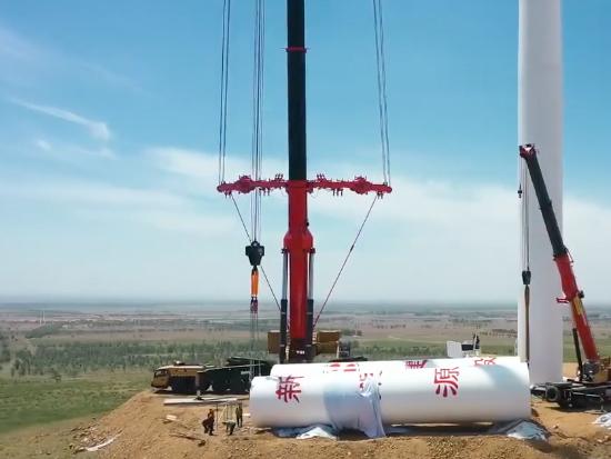 三一SAC16000S全地面起重機首吊